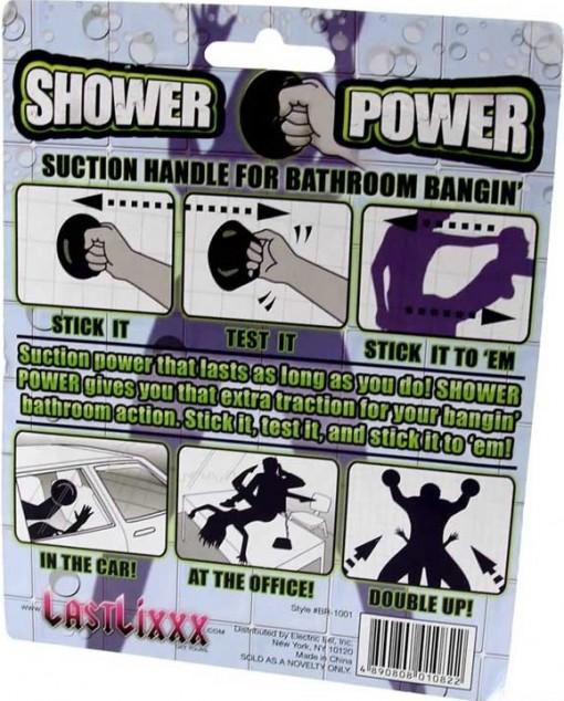 Shower Power on näppärä apuväline panopuuhiin 1