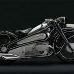 1934 BMW R7 on hengästyttävän upea