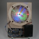 "A Bulbdial Clock on led-""aurinkokello"""