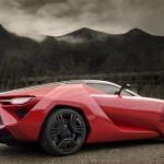 Bertone Mantide, pohjana Corvette ZR-1 1