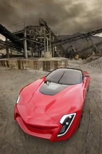 Bertone Mantide, pohjana Corvette ZR-1 2