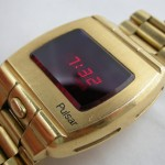 Myynnissä: Pulsar P1 Prototype LED Digital watch 18k 2