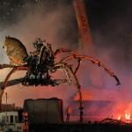 Jättiläisrobottihämähäkki valtasi Yokohaman kadut Japanissa