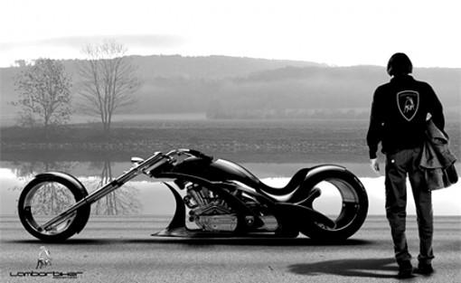 Flavio Adriani: Lamborbiker Concept 1