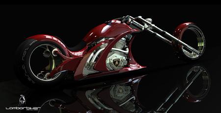 Flavio Adriani: Lamborbiker Concept 3