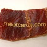 Meatcard on käyntikortti, joka ei jätä asiakasta nälkäiseksi