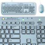Medigenic Keyboard on helppo puhdistaa ja näyttää näppäimistöltä