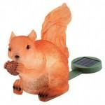 Päivän turhake: aurinkokennolla latautuva muovinen oravalamppu
