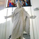 Västeråsissa rakennettiin 1,8 metriä korkea Jeesus Legoista