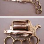 Apache on pistooli-nyrkkirauta-tikariyhdistelmä 1800-luvulta
