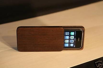 Puinen säilytysrasia iPhonelle on erittäin hieno 1
