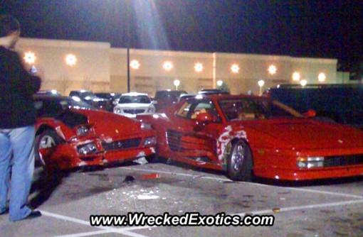 Kaksi Ferraria ja yksi parkkipaikka on kallis yhtälö 1