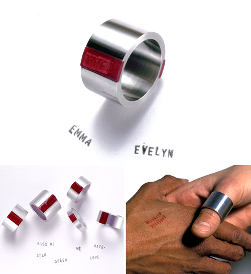 Afroditi Krassa: Afroditi's Ring -leimasinsormus