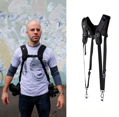 RS DR-1 Double Strap on hihna kahdelle kameralle