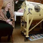 Nainen vietti yli 60 vuotta elämästään rautakeuhkossa