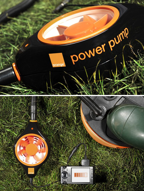 Orange: Power Pump -laturi pumppaa kännykkään virtaa