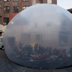 Raumlabor SpaceBuster -kupla kiertää New Yorkia
