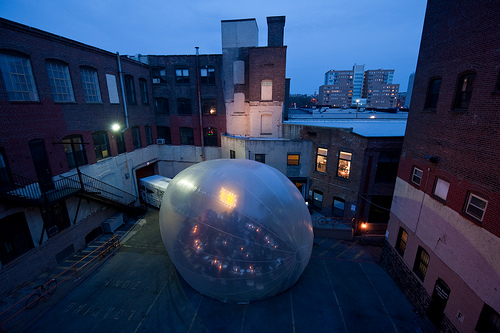 Raumlabor SpaceBuster -kupla kiertää New Yorkia 7