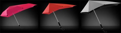 SENZ umbrellas -sateenvarjo kestää jopa 27m/s tuulen 2