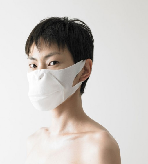 Mintdesigners: To Be Someone antaa hengityssuojaimelle kasvot, apinan kasvot 1