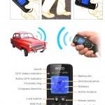 ECCO GPS Keychain on avaimenperä, johon voi tallentaa 3 sijaintia
