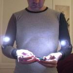Hand Lights, tee-se-itse kyynärtaivelvalot 1