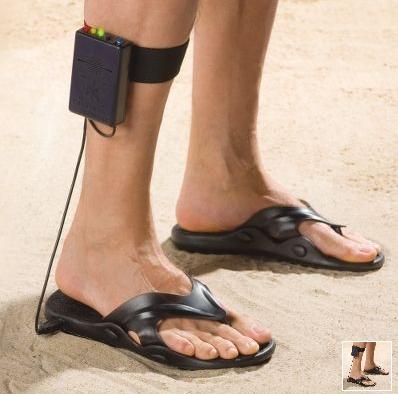 Metallinpaljastin-sandaalit