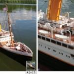 Radio-ohjattava RMS Titanic on 1,8 metriä pitkä