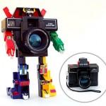 Voltron Star Shooter, kamera-robotti