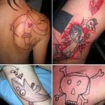 Yann Travaille toteuttaa tyylikkäitä tatuointeja tuhrutyyliin