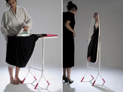 Aïssa Logerot: Madame est servie -silityslauta-peili
