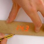 Electronic Ruler on perinteinen viivain digitaalisella näytöllä 1
