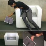 Tomomi Sayuda: iBum-nojatuoli, joka kopioi takapuolen