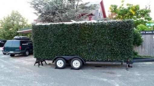 Justin Shull: Porta Hedge - Siirreltävä pensasaita sekä vakoiluvaunu 2