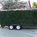 Justin Shull: Porta Hedge – Siirreltävä pensasaita sekä vakoiluvaunu