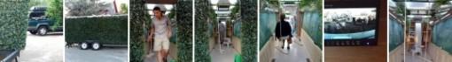 Justin Shull: Porta Hedge - Siirreltävä pensasaita sekä vakoiluvaunu 4