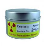 Oudoimpia netissä myytäviä asioita, osa 2: Purkitettua uraanimalmia säteilymittareiden testaamiseen