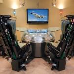 Phantom Werks bar on McDonnell Douglas F-4 Phantom Jet -koneiden istuimilla varusteltu kokonaisuus