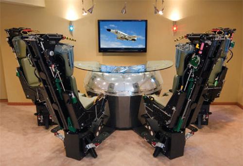 Phantom Werks bar on McDonnell Douglas F-4 Phantom Jet -koneiden istuimilla varusteltu kokonaisuus 6