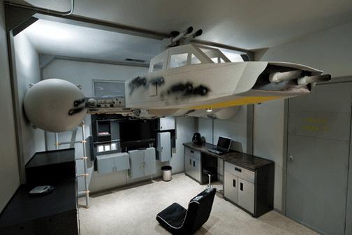 Y-Wing -hävittäjä-parvi-sänky 1