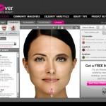 Daily Makeover antaa mahdollisuuden pistää lookin uusiksi virtuaalisesti