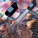 Digitaaliset grillipihdit mittaavat lämpötilan
