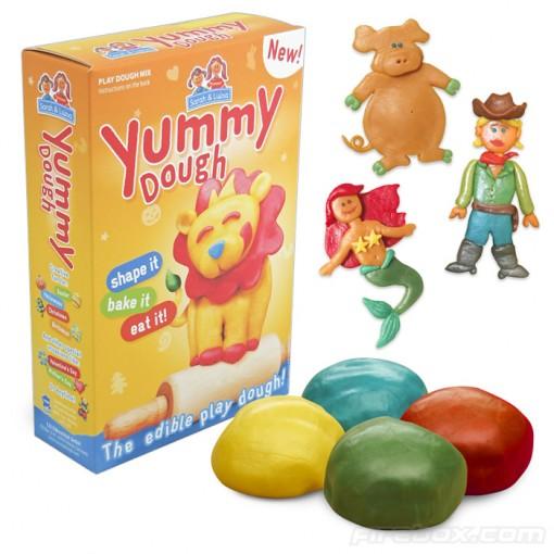 Yummy Dough on syötävää muovailuvahaa tai sen tapaista 2