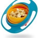 Loopa Gyroscopic Toddler Bowls, kulhot jotka ovat aina oikein päin