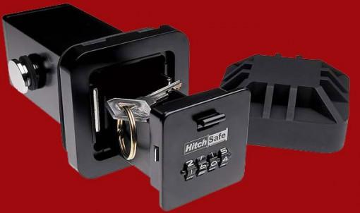 Locking Hitch Vault pitää auton avaimet turvassa - autossa 1