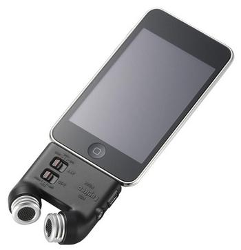 logiteclicire03pLogitec LIC-iREC03P Module muuttaa iPodin tai iPhonen sanelukoneeksi 1