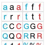Arial versus Helvetica