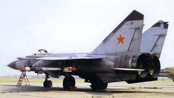 MIG-25 ja valtavat