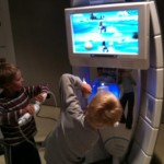 Lasten peli-ilta Nintendo Wiin parissa