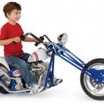 Evel Knievel lasten chopperi on oivallisen oloinen